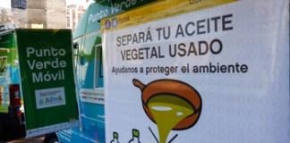 El aceite vegetal usado y aparatos electrónicos será recibidos en ferias y mercados de la Ciudad