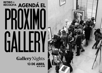 Gallery Nights 13/04/2018