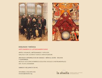 Barroco Latinoamericano en La Abadía