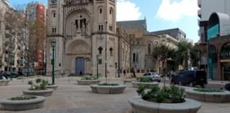 Festejos por el 9 de julio en Plaza Güemes