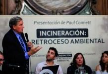 Paul Connett alertó en la Legislatura sobre los riesgos de la incineración