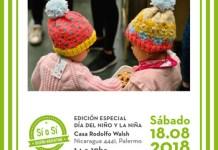 Feria Sí o Sí en Casa Rodolfo Walsh