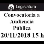 Convocatoria a Audiencia Pública por la ampliación del Aeroparque