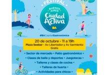 Sábado 20 de octubre - Festival Ciudad Activa