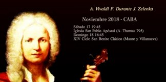 BARROCO – Concierto Sinfónico Coral por Coro de la Vieja Plaza y Orquesta