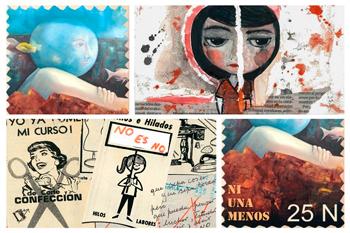 La Violencia de Género expresada a través del Arte Postal