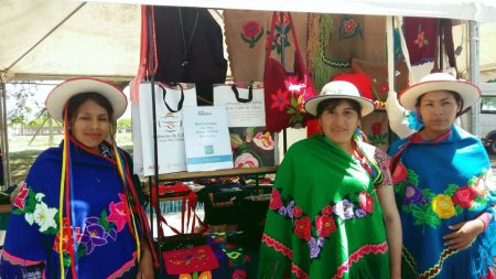 Artesanas Jujeñas presentes en la ExpoVerdeFest de Vicente López
