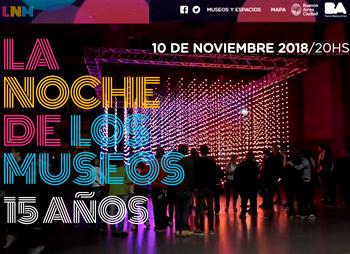 La Noche de los Museos - 10 de noviembre de 2018
