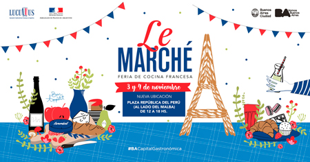 Le Marché, feria de cocina francesa