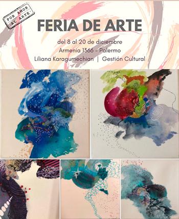 Feria de Arte en la Asociación Cultural Armenia en Palermo
