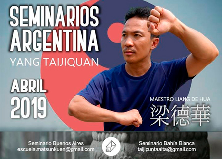"The martial Man llega a la ""Escuela Ma Tsun Kuen"" de Tai Chi en Palermo"