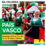 BA Celebra al país vasco el domingo 12 en Av. de Mayo y Bolivar