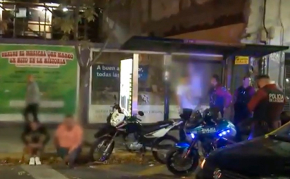 Hacía delivery de marihuana en moto en PalermoHacía delivery de marihuana en moto en Palermo