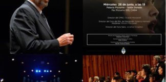 Tres coros de gran trayectoria se presentarán el 26 de Junio en el Palacio Pizzurno