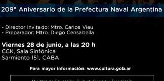 La Orquesta Sinfónica Nacional en el CCK el viernes 28 de junio