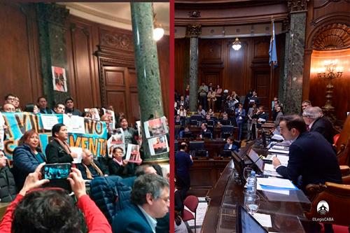 La Legislatura de la Ciudad autorizó la venta de terrenos transferidos por la Nación