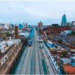 Pruebas en el Viaducto San Martín para su próxima inauguración