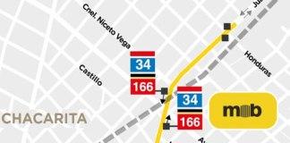 Nuevos paradores y plazoletas en el Metrobús Juan B. Justo