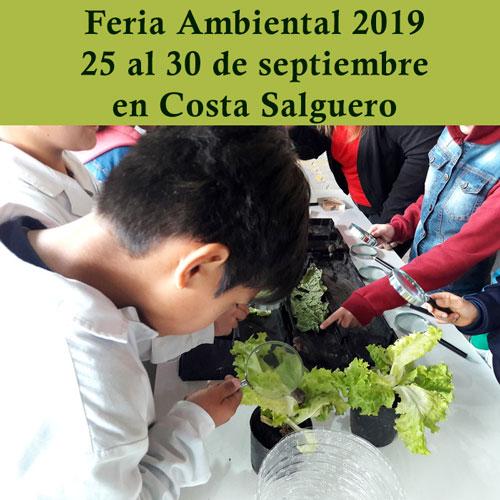 Feria Ambiental 2019 del 25 al 30 de septiembre en Costa Salguero