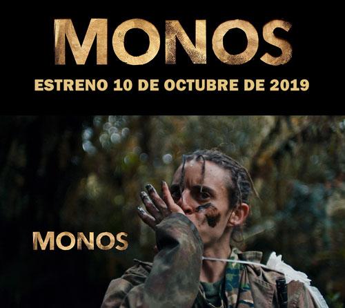MONOS de Alejandro Landes se estrena el próximo jueves 10