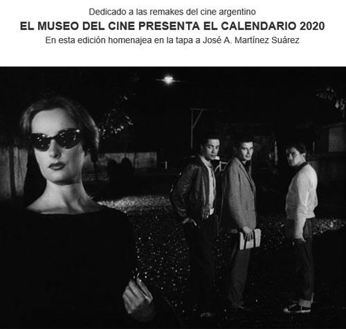 Presentación del Calendario 2020 del Museo del  Cine