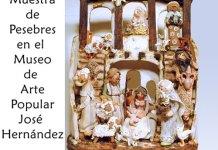 Pesebres en el Museo Hernández