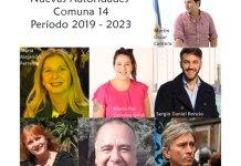 Nueva Junta Comuna 14 -2019-2023