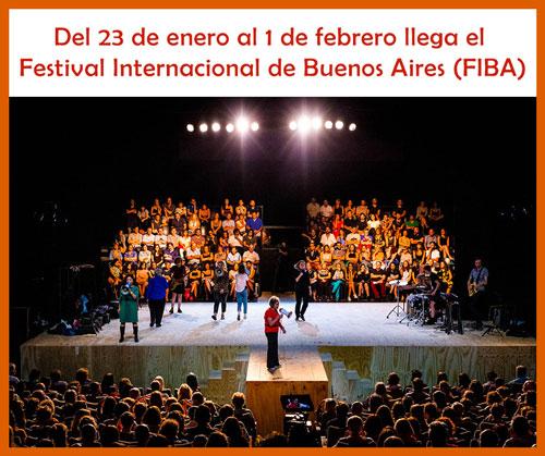El Festival Internacional de Buenos Aires desde el 23 de enero