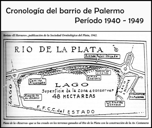 Plano de la Reserva del barrio de Palermo