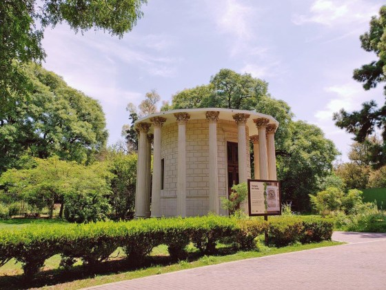 Ecoparque - Templo de Vesta donde las mujeres podían amamantar luego fue biblioteca