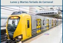 Servicios Públicos durante el feriado de Carnaval en la Ciudad