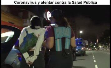 Por violar las medidas contra el Coronavirus detuvieron a encargada de un bar en Palermo