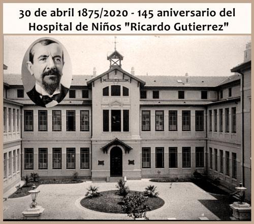 """145 aniversario del Hospital de Niños """"Ricardo Gutierrez"""""""