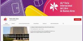 La Feria Internacional del Libro de Buenos Aires está disponible en Youtube