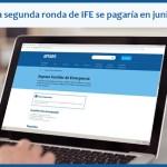 IFE: se volvería a cobrar en junio