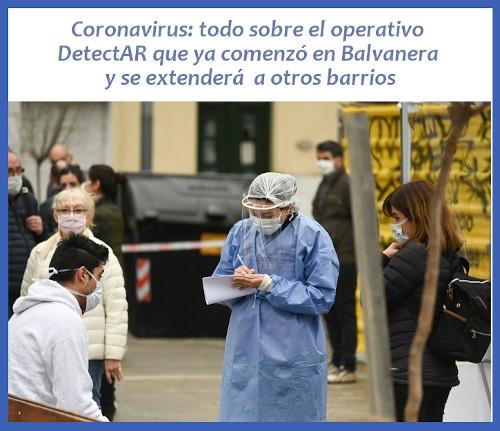 Coronavirus: el operativo DetectAR sale a buscar casos en de la Ciudad