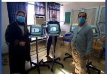 Donación de 4 respiradores al Hospital Fernández