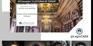 4 Lecturas de Terror en el Ciclo de Narraciones de la Legislatura