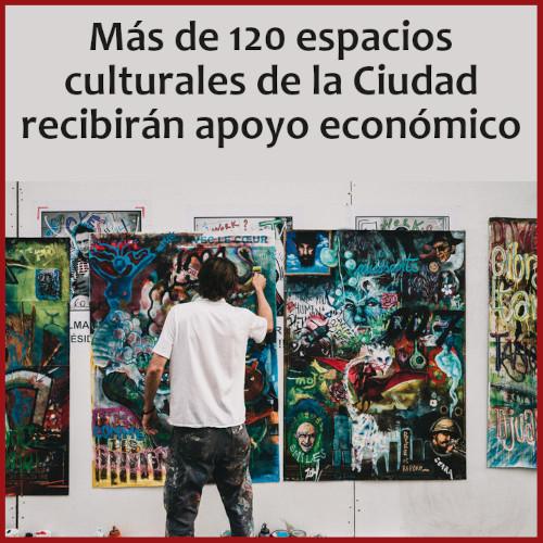 Apoyo económico de la Ciudad a espacios culturales