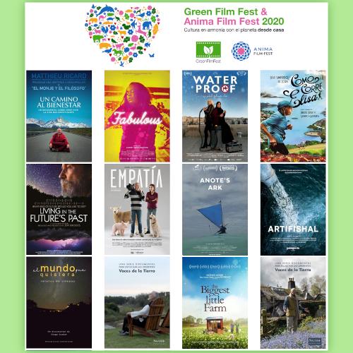 Green Film Fest & Anima Film Fest del 10 al 17 de septiembre