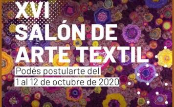 Convocatoria al XVI Salón de Arte Textil virtual- pequeño y mediano formato