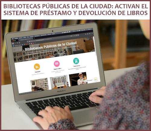 Sistema de préstamo y devolución de libros en las Bibliotecas Públicas de la Ciudad