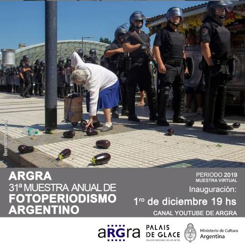 Desde el 1/12: Muestra Anual de Fotoperiodismo Argentino 2020