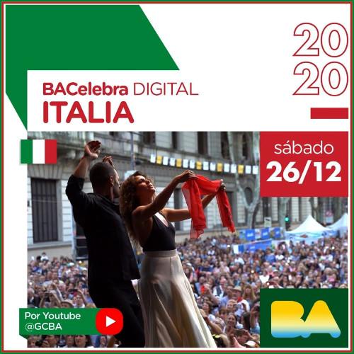 Música, cultura y gastronomía en el Buenos Aires Celebra Italia 2020