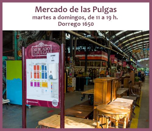 El Mercado de las Pulgas vuelve los fines de semana