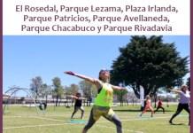 Ya podés anotarte para participar de la actividades en Plazas Activas