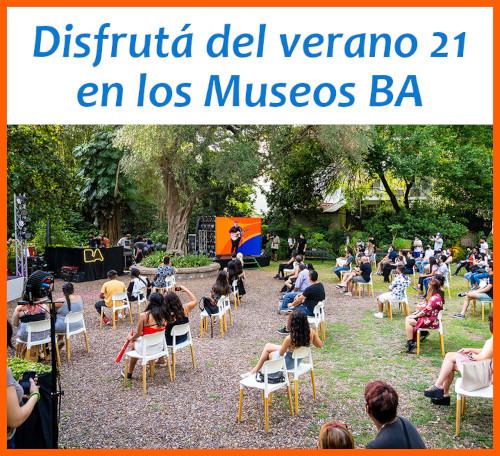 Verano 2021 para disfrutar en los Museos BA