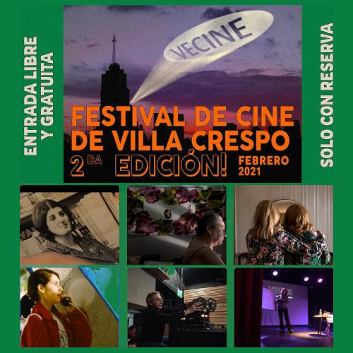 VECINE, el Festival de Cine de Villa Crespo, gratis y al aire libre