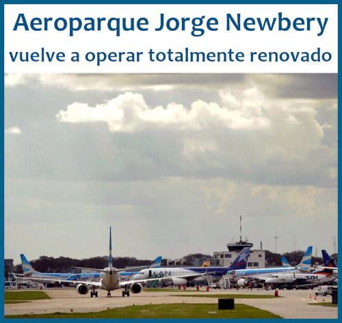 Reforma total en el Aeroparque Jorge Newbery