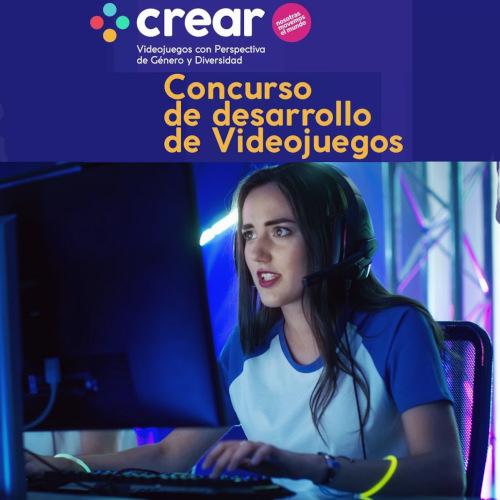 """""""CREAR"""" convoca a desarrollar videojuegos con perspectiva de género y diversidad"""